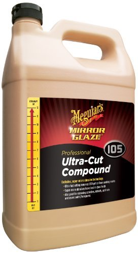 Ultra Cut Compound - Meguiar's M105 Mirror Glaze Ultra-Cut Compound - 1 Gallon by Meguiar's