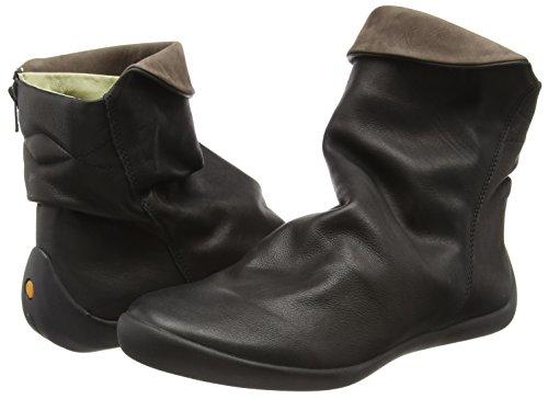 Nat332sof black Dk 022 Softinos Pour Noires Femmes Brown Bottines qE7XvCwxC
