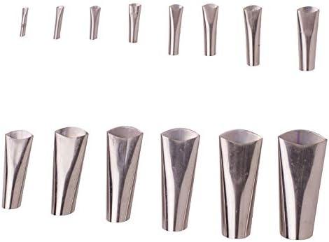 Benkeg コーキングフィニッシャー、14ピースコーキングフィニッシャーステンレス鋼接着剤ノズルシーラントコーキングノズル接着剤リムーバースクレーパー仕上げツールキッチンバスルームウィンドウ