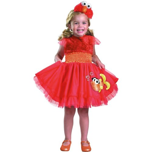 Frilly Elmo Costume - Small (Elmo Costume For Baby)