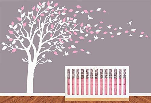 lucky blowing tree wallpaper sticker