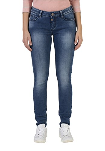 Timezone Tight Aleena, Vaqueros Skinny para Mujer Azul (Bright Blue Wash 3151)
