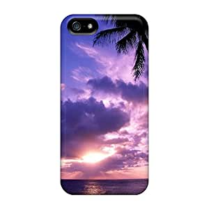 Iphone 5/5s Case Slim [ultra Fit] The Beach 4 Protective Case Cover