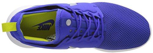 Loup Bleu Blanc Deux Electrolime Blau Herren Dekollete primordial Nike Roshe Gris Espadrille 0qwzx1U