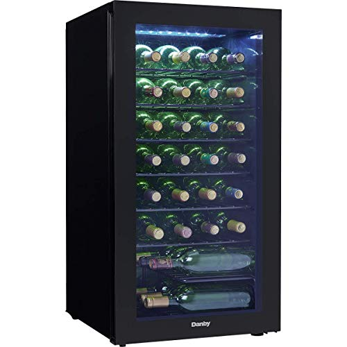 Danby DWC032A2BDB 36 Bottle Wine Cooler - with Glass Door