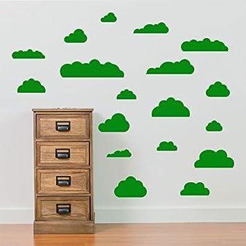 GroBartig Cloud Wand Aufkleber Kinder Zimmer Kinderzimmer Schlafzimmer Schulen Wand  Dekorationen Fenster Aufkleber Wall Decor Sticker Wall