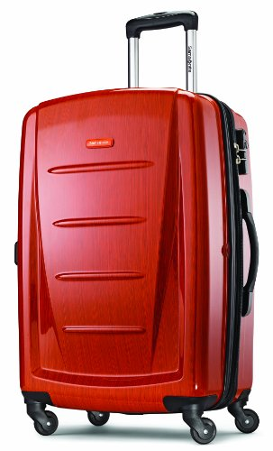 Samsonite Luggage Checked-Medium, Orange ()