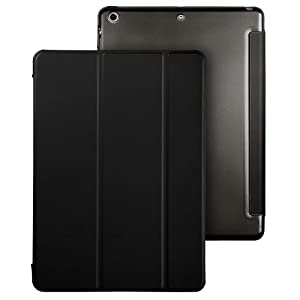 iPad Mini 2 Case, ESR iPad Mini Smart Case Cover [Synthetic Leather] Translucent Frosted Back Magnetic Cover with Sleep/Wake Function [Ultra Slim][Light Weight] for iPad Mini 1/2/3 by Electronic Silk Road Corp