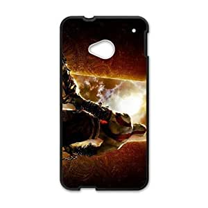 HTC One M7 Black phone case god of war 3 WCT4296038