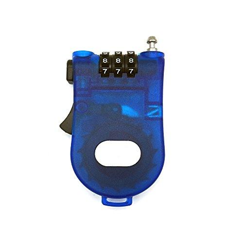 Retractable Cable Lock - 3