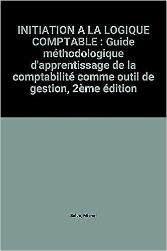 Lire Initiation à la logique comptable pdf epub