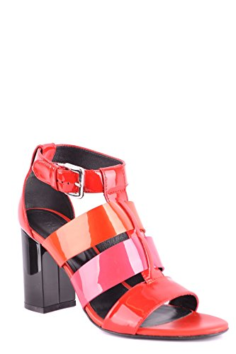 Sandals Hogan Red Leather MCBI148502O Women's xwqqCUXO