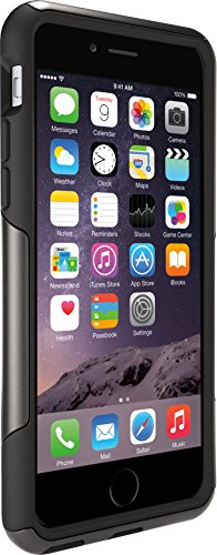 OtterBox Commuter Series iPhone 6/6s Case - Frustration Free Packaging - Black (Black Iphone 6 Case)