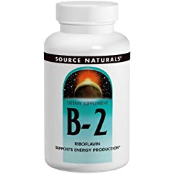 Source Naturals Vitamin B-2 Riboflavin 100mg, 250 Tablets