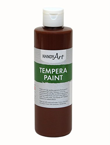 tempera paint brown - 8