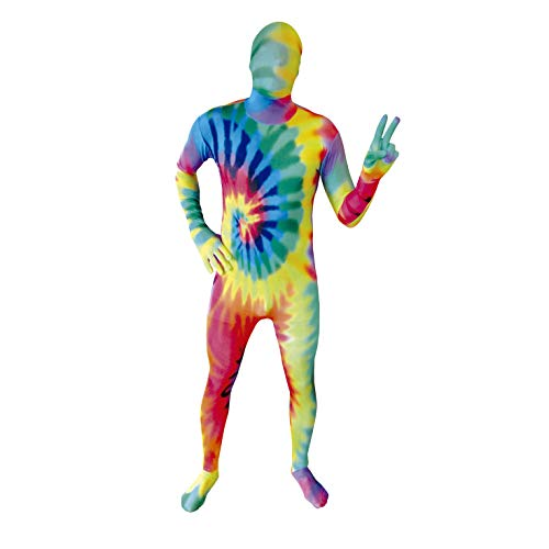 Morphsuits Men's Premium Discontinued US, Tie Dye, X-Large ()