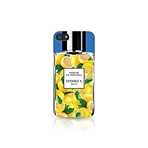 Iphoria Collection Parfum Au Portable Citrus - Funda para Apple iPhone 4, diseño de perfume, color amarillo
