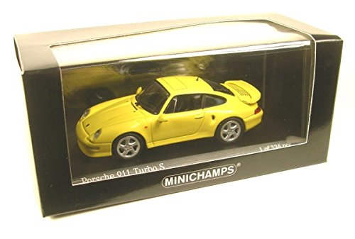 Amazon.com: Porsche 911 (993) Turbo S, light yellow, 1998, Model Car, Ready-made, Minichamps 1:43: Minichamps: Toys & Games