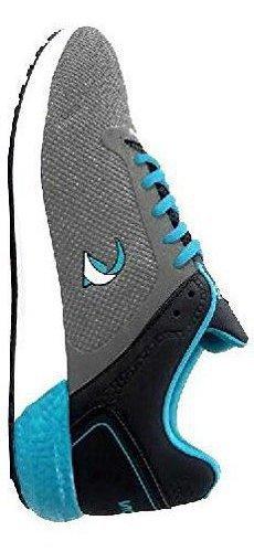 NASON Men's Grey Mesh Sports Shoes(NS