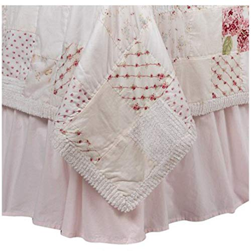 Simply Shabby Chic Pink Solid Bedskirt (Queen) from Simply Shabby Chic