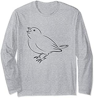 Momma Bird  Long Sleeve T-shirt | Size S - 5XL