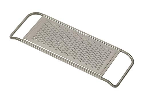 - Reiss Stainless-Steel Vegetable Grater | Finely Grated Pieces, Dishwasher Safe, Easy to Store Horizontal Shredder, For Potatoes, Chocolate, Cheese, Vegetables, and More