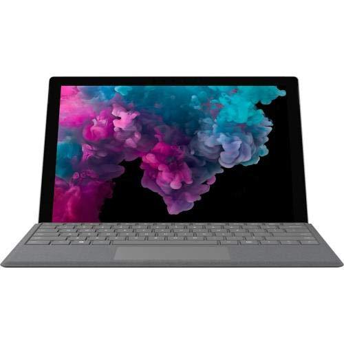 Microsoft Surface Pro 6 (Intel Core i5, 128GB SSD, 8GB RAM) + Type Cover Bundle (Platinum)