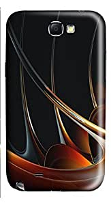 Samsung Note 2 Case 3D Abstract Designs 2 3D Custom Samsung Note 2 Case Cover
