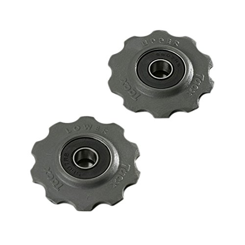 Tacx Stainless Steel Bearing Pulleys - Shimano/Campagnolo 10 ()