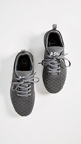 Apl: Laboratori Di Propulsione Atletica Womens Techloom Pro Sneakers Canna Di Fucile / Bianco / Gomma