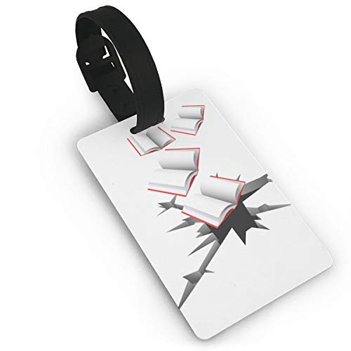 (Diemeouk Luggage Tags For Suitcases Book PVC Baggage Cards For Cruise Ships)