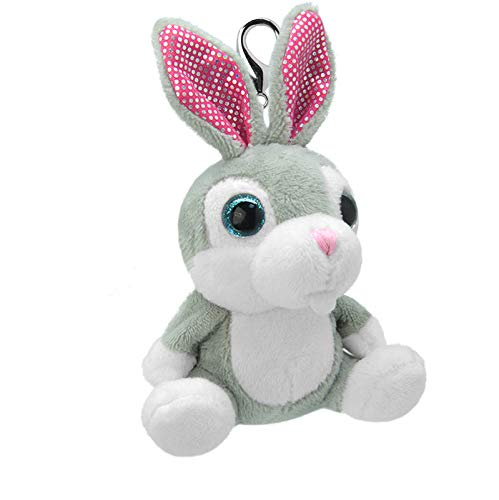 ORBYS Wild Planet 10cm Luxury Handmade Rabbit Soft Toy. Keyring ...
