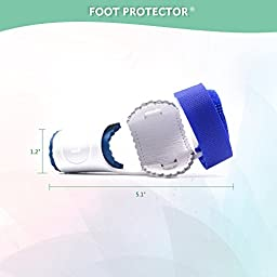 2pcs Adjustable Velcro Bunion Night Splint Hammertoe Corrector Brace for Big Toes Joint Hallux Valgus Pain Relief