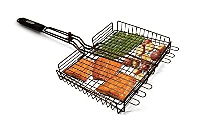 Cuisinart Non Stick Large Grilling Basket Fish Vegetable Seafood BBQ Grill Grate