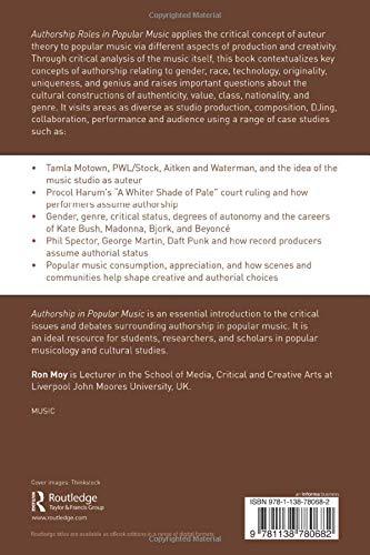 Authorship Roles in Popular Music: Issues and Debates: Amazon ...