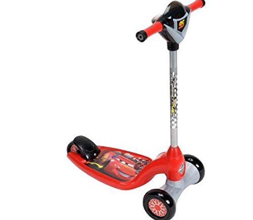 Amazon.com: Disney Pixar Cars Kids Activity Scooter with Lights & Sounds: Toys & Games