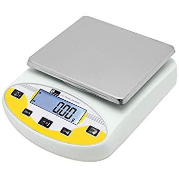 Image of CGOLDENWALL High Precision Lab Digital Scale Analytical Electronic Balance Laboratory Lab Scale Precision Jewelry Scales Kitchen Precision Weighing Electronic Scales 0.01g Calibrated (5000g, 0.01g) Home and Kitchen