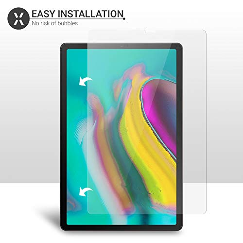 Olixar for Samsung Galaxy Tab S5e Screen Protector - Tempered Glass 9H Rated - Shock Protection - Easy Application, Card and Cleaning Cloth Included - Clear