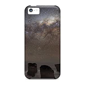 Tough Iphone OMVuKZu1706Yvqll Case Cover/ Case For Iphone 5c(starry Night At Sea)