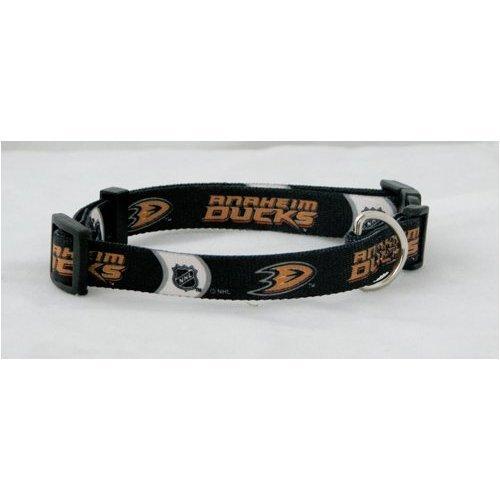 Hunter Mfg. LLP NHL Anaheim Ducks Adjustable Pet Collar, Team Color, X-Small