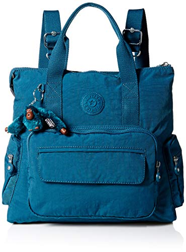 Kipling Alvy 2-in-1 Convertible Tote Bag Backpack,  Gleaming
