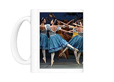 Mug of Mikhailovsky Ballet dancers perform Giselle scene (12291929)