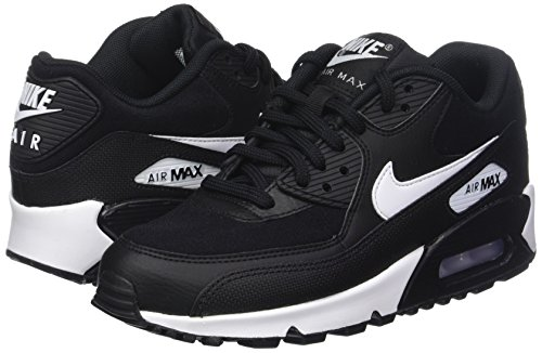 Max Scarpe Donna white black Ginnastica Basse 90 Nero Air Da 047 Nike 5UqwgRW
