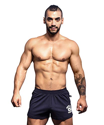 (Andrew Christian Shorts, PHYS Ed Collection Mens Navy Clothing)