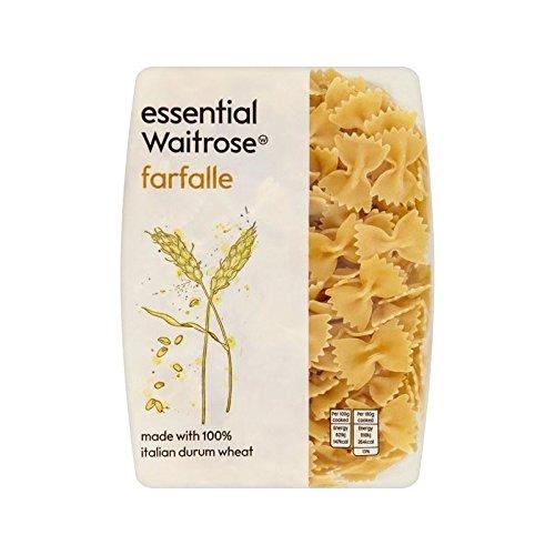 Farfalle essential Waitrose 500g - Pack of 6