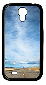 diy phone caseCool Painting Samsung Galaxy I9500 Case and Cover -Road Sky Polycarbonate Hard Case Back Cover for Samsung Galaxy S4/I9500diy phone case