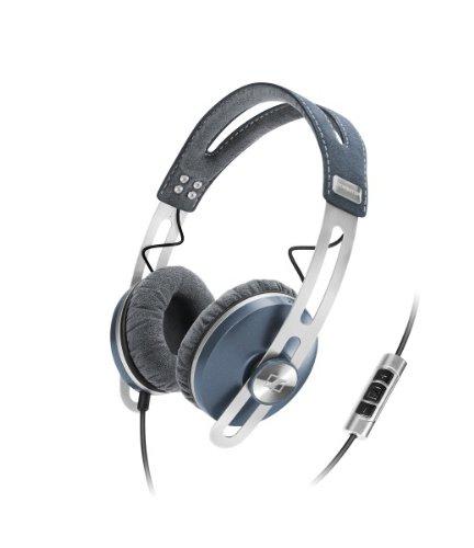 Sennheiser Momentum 1.0 - Auriculares de diadema cerrados (con micrófono, control remoto integrado, 3.5 mm), azul: Amazon.es: Electrónica