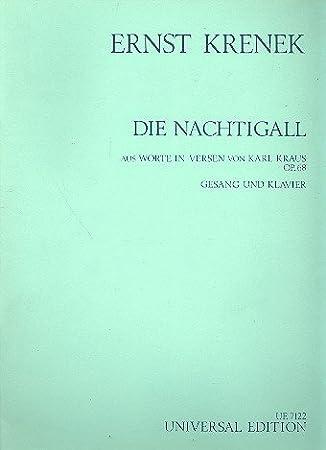 Die Nachtigall - Vocal and Piano - Book: Amazon.es: Instrumentos musicales