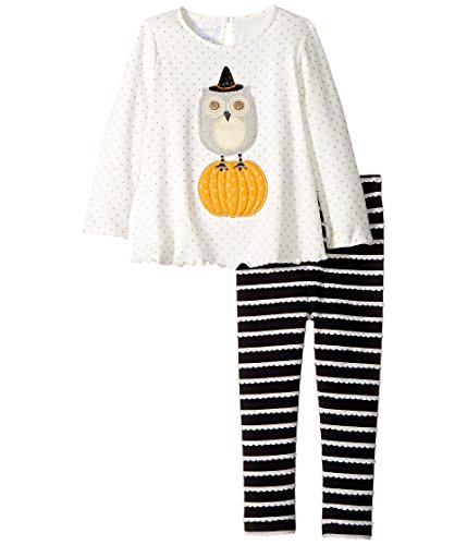 White Witch Outfit - Mud Pie Baby Girl's Halloween Owl