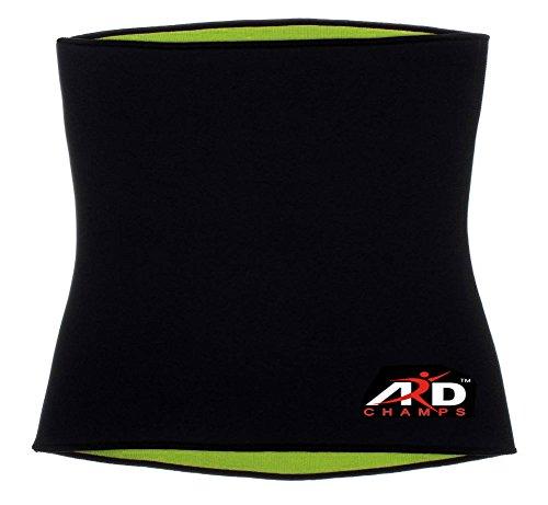 ARD Champs Hot Thermo Sweat Neoprene Shapers Slimming Belt Waist Cincher Girdle For Weight Loss Women & Men